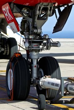 """Nose gear portrait of an Airbus [x] Air Berlin D-AERK, at… Aircraft Maintenance, Aircraft Painting, Aircraft Engine, Landing Gear, Commercial Aircraft, Mechanical Design, Aircraft Pictures, Jet Plane, Military Aircraft"