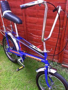 Restored Raleigh Chopper MKII, This bike is responsible for many scars. I had this exact one Cool Bicycles, Cool Bikes, Retro Toys, Vintage Toys, Raleigh Chopper, Raleigh Bikes, Lowrider Bicycle, Retro Bike, Push Bikes