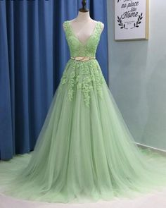 light green homecoming dress