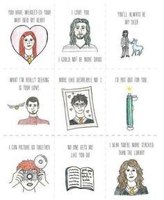 Harry potter pick up lines... Totally using these!