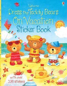 Dress the Teddy Bears On Vacation