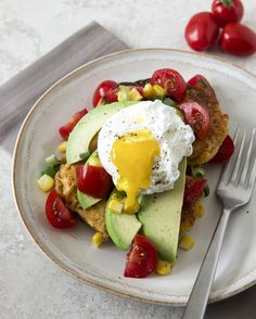 Guest-starring avocado's BFFs, eggs and carbs.