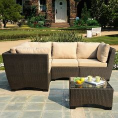 Found it at Wayfair.ca - Garden 5 Piece Patio Deep Seating Group with Cushions