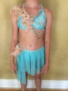 Custom Made Lyrical Dance Costume by CDC Size S #CDC
