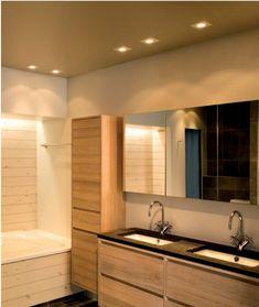 Saturn Square Recessed LED Downlight, x / Downlights, Bathroom Lighting, Mirror, Interior, Furniture, Home Decor, Bathroom Light Fittings, Bathroom Vanity Lighting, Decoration Home