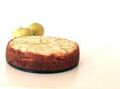 Arabafelice in cucina!: Torta di mele, mandorle e limoncello (senza burro nè olio)