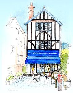 the wheelhouse restaurant icon
