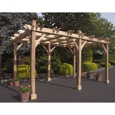 Outdoor Living Today Breeze 16 Ft. W x 10 Ft. D Cedar Pergola