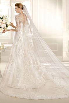 Wedding Dresses A Line Scoop Court Train Lace  Mid Length Sleevehttp://www.elleprom.com/2013-Wedding-Dresses-A-Line-Scoop-Court-Train-Lace-Mid-Length-Sleeve