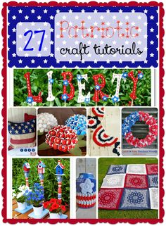 Want to show off your love of country? Check out these 27 fun patriotic crafts for all skill levels! Includes many that can be adapted for Canada Day! Fourth Of July Quotes, Fourth Of July Crafts For Kids, Summer Activities For Kids, Crafts For Kids To Make, 4th Of July Party, July 4th, Kid Activities, Cute Crafts, Diy Crafts