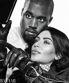 Kim Kardashian West and Kanye West get up close and intimate for Harper's Bazaar's September 2016 cover photographed by Karl Lagerfeld. Inside the magazine… Kim Kardashian Kanye West, Robert Kardashian, Kim E Kanye, Kim Kardashian Interview, Kanye West And Kim, Kardashian Family, Kardashian Jenner, Kardashian Photos, Kris Jenner