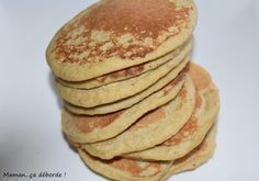 Pancakes à la banane et flocons d'avoine (sans gluten)