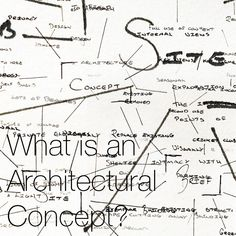 What is an Architectural Concept? In architecture a concept gives the architect / designer a clear direction and framework for making design decisions; it provides a methodology to the thinking process... #architectureconcepts #architecturalconcepts #architecturaldesign #architecturedesign