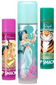 Disney Princess Chap Stick | Lip Smacker Disney Princess Jasmine Aladdin Very Magical Lip Gloss ...