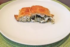 Feta, Spanakopita, Ethnic Recipes, Blog, Vegetarian Cooking, Food Portions, Food Food, Cooking