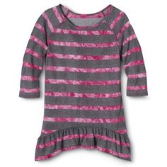 Circo® Girls' Tunic Sweater - Pink