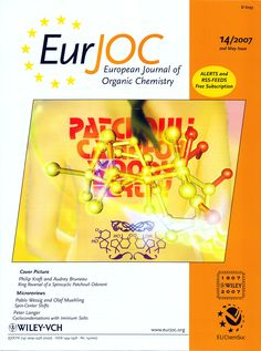 Philip Kraft, Audrey Bruneau, Ring-Reversal of a Spirocyclic Patchouli Odorant: Molecular-Modeling, Synthesis and Odor of Eur. Organic Chemistry, Cover Pics, Modeling, Ring, Rings, Modeling Photography, Jewelry Rings, Models