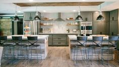 One of my favorite kitchens that Joanna and Chip have done.  What It Was Really Like Being the First Single Guy to Appear on 'Fixer Upper'