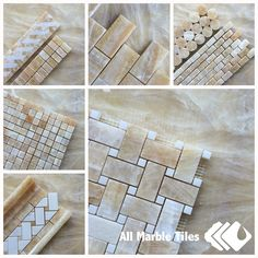 Transforming Your House with Honey Onyx Mosaic Tiles from http://AllMarbleTiles.com
