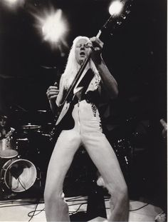 Johnny Winter live at Montreux 1970