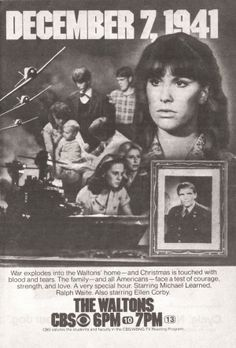 TV Guide Ad - The Waltons Season 7 - Episode 10