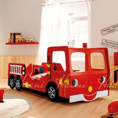 Found it at Wayfair.co.uk - Fire Engine Kids Single Car Bed