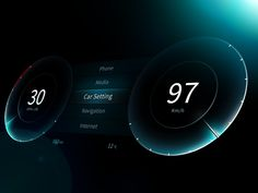 Car Dashboard UI & UX Concepts – Inspiration Supply – Medium As a car enthusiast and designer, I've decided to put together a list of some of the best dashboard UI & UX concepts that I could find and would look great in any auto. Dashboard Ui, Dashboard Design, Ui Ux Design, Web And App Design, Layout Design, Design Websites, Icon Design, Logo Design, Iphone Interface