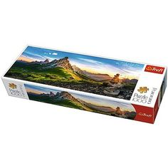 Giau-hágó, Olaszország panoráma puzzle 1000db-os - Trefl Puzzle, Cover, Books, Livros, Puzzles, Riddles, Livres, Book, Blankets