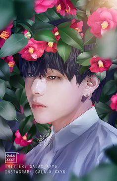 twitter.com/galaxxxy6 || BTS V || Bangtan Boys Kim Taehyung