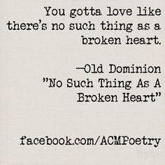 Old Dominion: No Such Thing as a Broken Heart