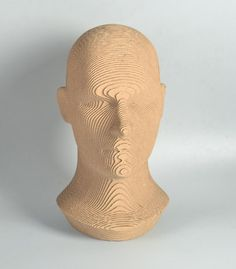 Human Head model  DIY cardboard KIT