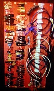 Organizadores para diademas y adornos para el pelo