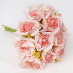 6 Pack 72 Pcs Pink Artificial Foam Rose Flowers 72 x Blooming Silk Rose Buds - Pink 12 Roses, Foam Roses, Silk Roses, Silk Flowers, Rose Flowers, Paper Flowers Wedding, Wedding Flower Arrangements, Flower Bouquet Wedding, Flower Centerpieces