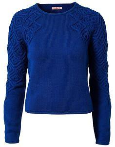 """В этой теме мы вяжем свитер и платье из коллекции французского дома моды Cacharel (Кашарель) 1. 2. 3. Тег для воплощений """"галерея 157119"""" (копировать с кавычками)"""