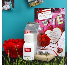 Valentine Gift Combo for Him Valentine Gifts For Husband, Valentine Day Gifts, Gift Wrapping, Romantic, Gifts For Valentines Day, Paper Wrapping, Romantic Things, Wrapping Gifts, Gift Packaging