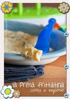 Bolli bolli pentolino: L'uovo nello svezzamento: la prima frittatina delicata cotta al vapore