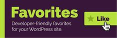Favorites // Favorites for any post type. Easily add favoriting/liking wishlists or any other similar functionality using the developer-friendly API. The post Favorites appeared first on Drupal & WordPress addons. Website Security, Security Tips, Seo Tips, Wordpress Plugins, Email Marketing, Improve Yourself, Web Design, December, Tutorials