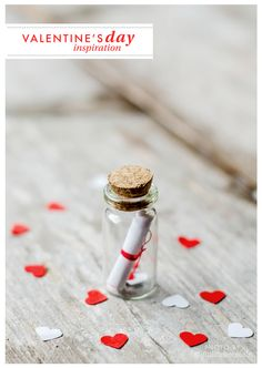 """DIY """"message in a bottle"""" on my blog!"""