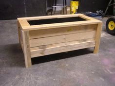 Pallet Planter Box, perfect for tomatos