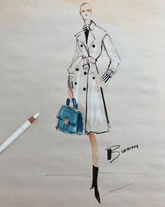 Jeanette Getrost - Burberry