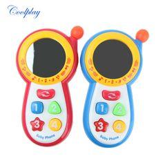 Coolplay Bayi Anak Belajar Studi Suara Musik Ponsel Mainan Pendidikan, anak-anak ponsel ponsel, belajar mainan ponsel 1013-3A