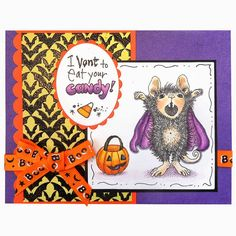 Stamping & Scrapping in California: Going more batty!