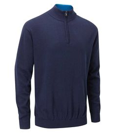 07ca1dd4d342 The Urban Half Zip Sweater from Stuburt uses quality fabrics and modern  technologies to ensure that you get a stylish sporty fit with a premium  feel.