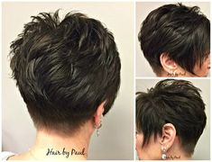 Today we have the most stylish 86 Cute Short Pixie Haircuts. We claim that you have never seen such elegant and eye-catching short hairstyles before. Pixie haircut, of course, offers a lot of options for the hair of the ladies'… Continue Reading → Cute Short Haircuts, Cute Hairstyles For Short Hair, Pixie Hairstyles, Short Hair With Layers, Short Hair Cuts For Women, Medium Hair Styles, Curly Hair Styles, Corte Y Color, Hair Affair