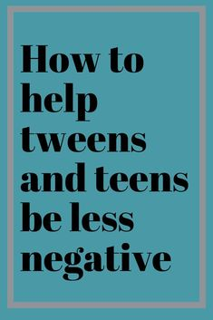 to Help Your Tween and Teen Let Go of Negative Thinking Help your tweens and teens get out of the cycle of negative thinking! ADHD Parenting tips.Help your tweens and teens get out of the cycle of negative thinking! ADHD Parenting tips. Raising Teenagers, Parenting Teenagers, Single Parenting, Parenting Quotes, Parenting Advice, Foster Parenting, Raising Teenager Quotes, Parenting Classes, Parenting Styles