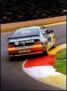 BTCC Peugeot 406 Tim Harvey Knockhill 1997 by Alan Browning, via Flickr