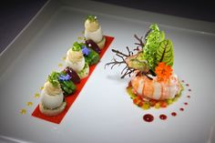 Michelin Star food and the art of food plating   The Chef House