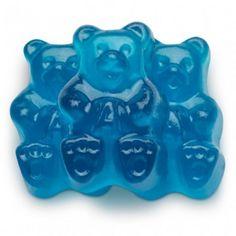 Blue Raspberry Gummi Bears