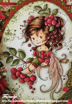 My passion for colors: Sylvia Zet/Wee Stamps Whimsy Stamps, Digi Stamps, Fairy Art, Copics, Diy Scrapbook, Cute Illustration, Fabric Painting, Cute Drawings, Cute Art