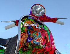 The Vespa goes psychedelic